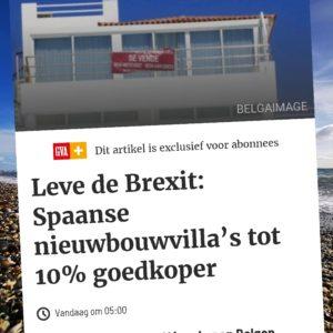 Spaans vastgoed tot 10% goedkoper dankzij Brexit