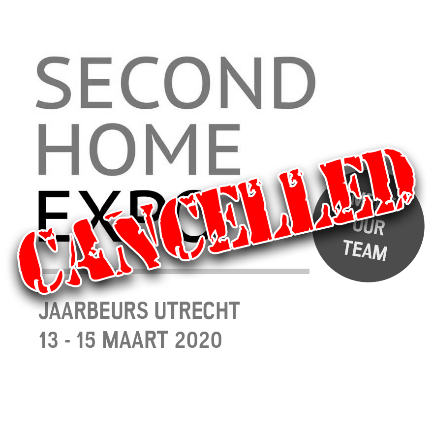 Second Home Expo Utrecht geannuleerd